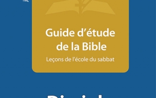 Ebook Guide d'étude de la Bible T1-2014 : Disciple